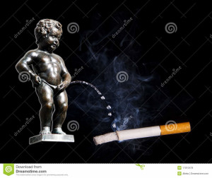 http://www.dreamstime.com/royalty-free-stock-images-manneken-pis-peeing-to-cigarette-image17010479